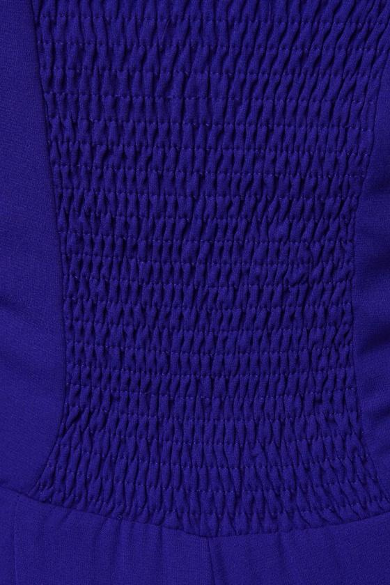 High Tide Blue Jumpsuit