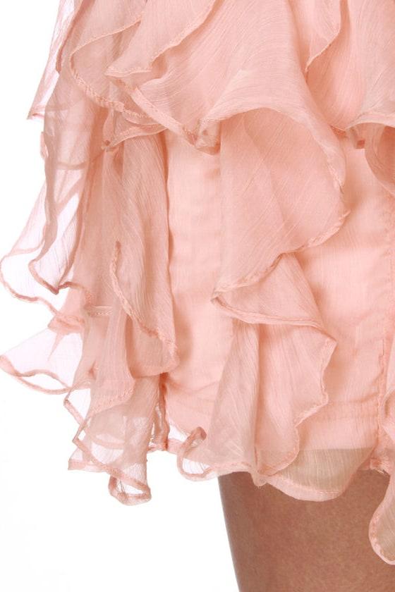 Do the Rustle Pink Mini Skirt