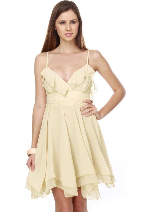 Ophelia's Flowers Ivory Dress