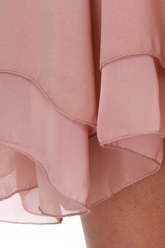 Ophelia's Flowers Blush Pink Dress