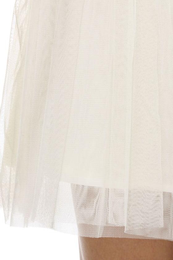 Petal Procession Ivory Dress
