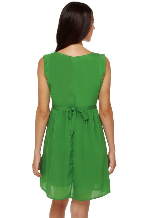 Tulle Emerald City Green Dress at Lulus.com!