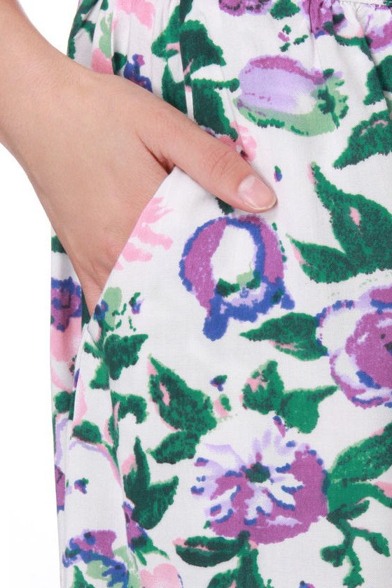 Tulle Candy Floss Floral Skirt