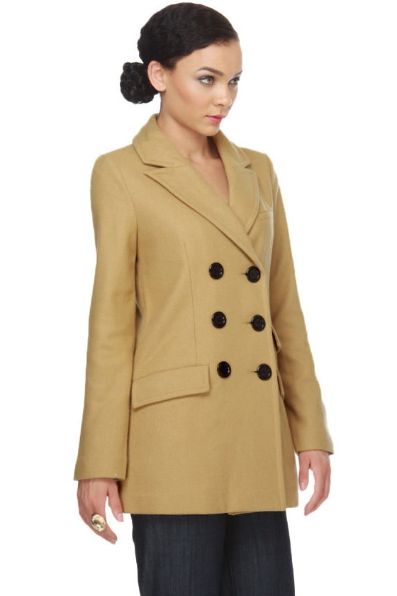 Tulle Highlands Wool Pea Coat