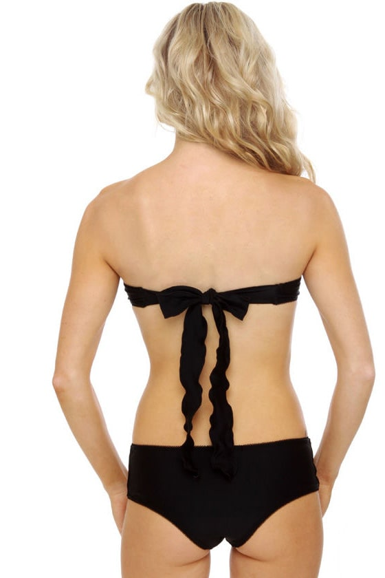 Mandalynn Bianka Convertible Black Monokini