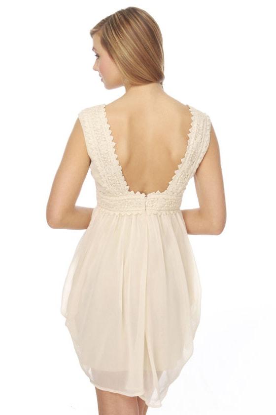 Sourdough Sweetie Ivory Dress