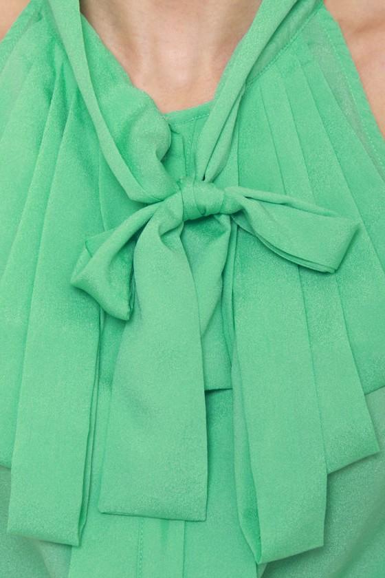 Dapper Dobbins Mint Green Top at Lulus.com!