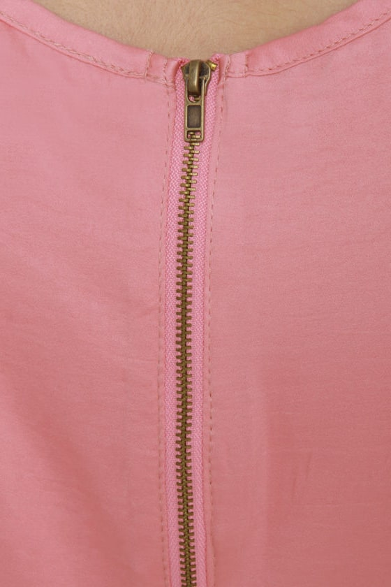 Pickled Ginger Pink Shift Dress