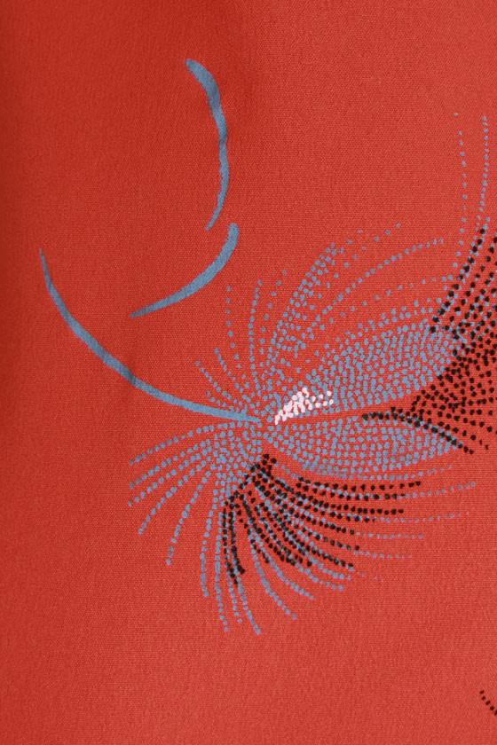 O\'Neill Majestic Print Orange Top