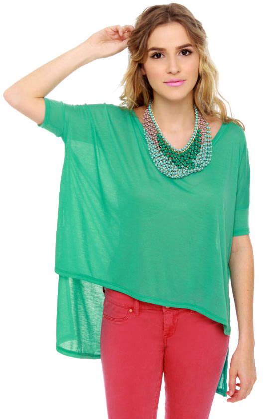 Get Along and Short Teal Top