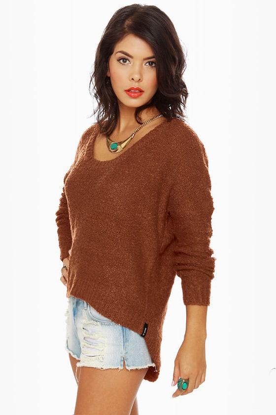 549e566bc Cute Orange Sweater - Burnt Orange Sweater -  66.00