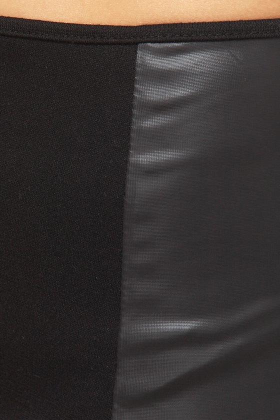 Dancing Machine Black Hot Pants