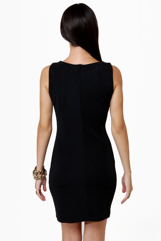 Constellation Prize Studded Black Dress at Lulus.com!