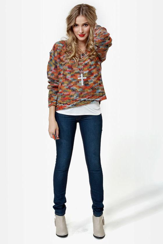 Roxy Elm Multi Knit Sweater