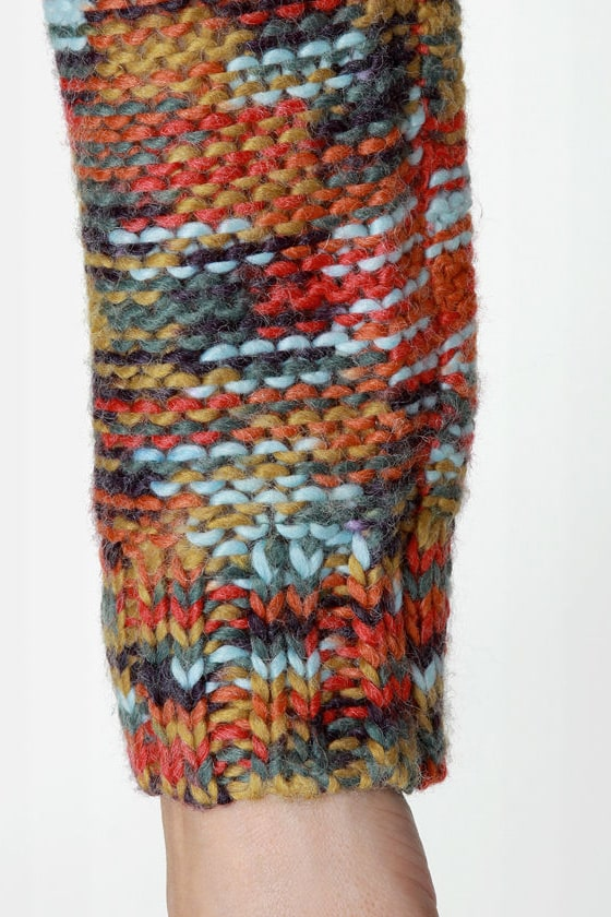 Roxy Elm Multi Knit Sweater at Lulus.com!