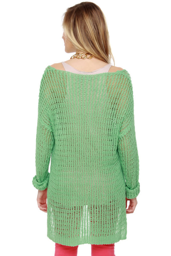 Instru-mint-al Beats Mint Sweater