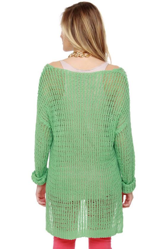 Instru-mint-al Beats Mint Sweater