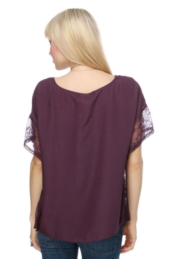 Gladiola Shadow Purple Top