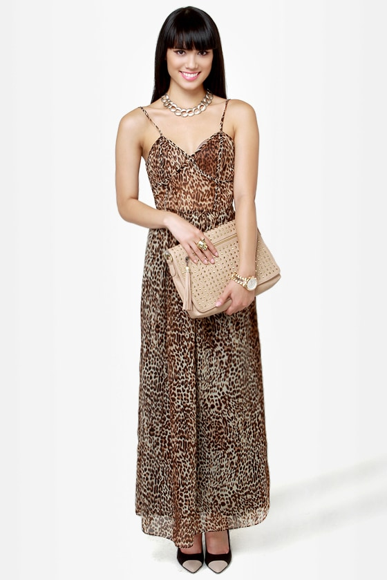 Can\\\\\\\\\\\\\\\\\\\\\\\\\\\\\\\\\\\\\\\\\\\\\\\\\\\\\\\\\\\\\\\'t Be Tamed Animal Print Maxi Dress