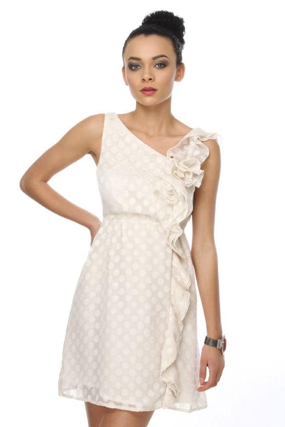Splendiferous Ivory Dress