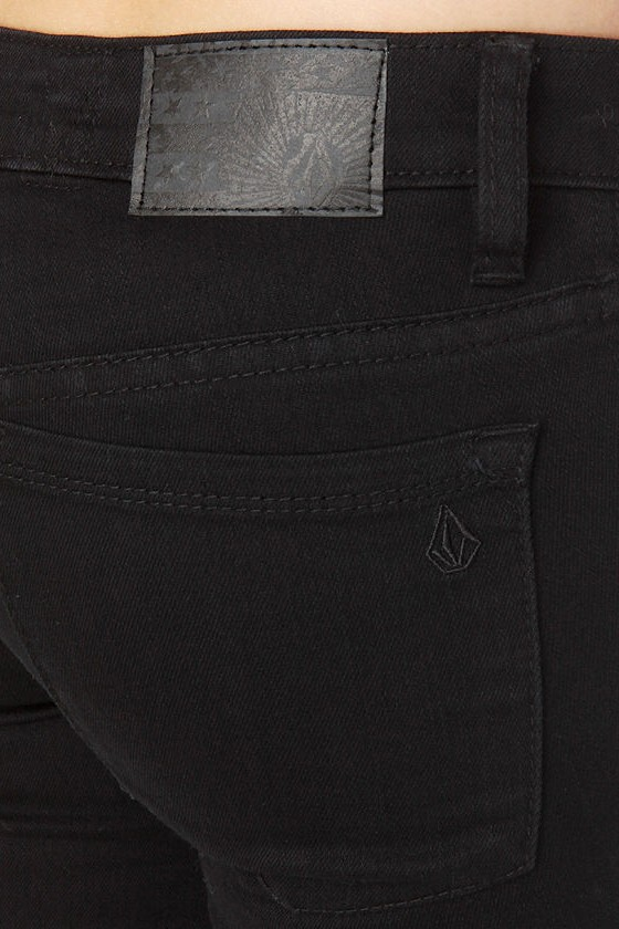 Volcom Pistol Black Jeggings