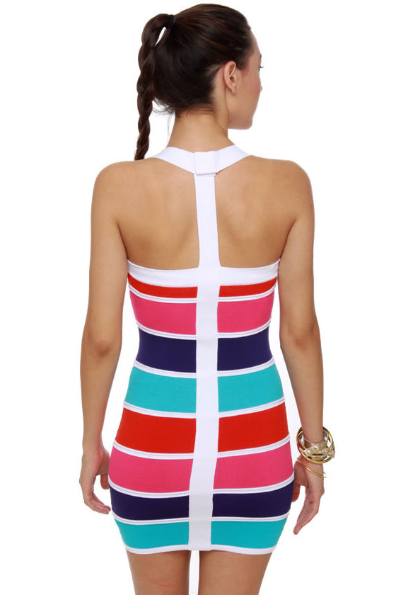 Block-apella Color Block Dress