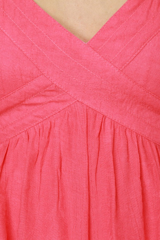Cottage Rose Pink Dress