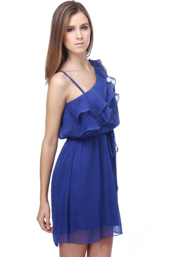 Lady Luck Royal Blue Dress