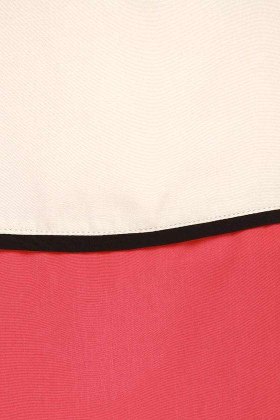 Black Sheep Moon Powder Color Block Dress