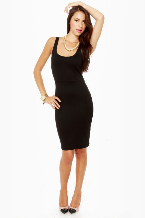 LULUS Exclusive Rock the Casbah Black Dress