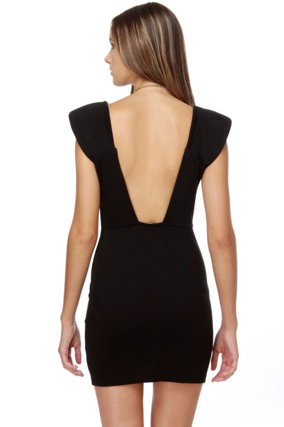 Space Odyssey Black Dress