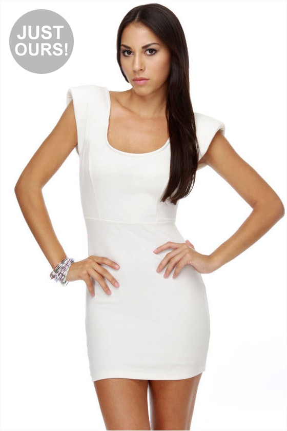 Space Odyssey Ivory Dress