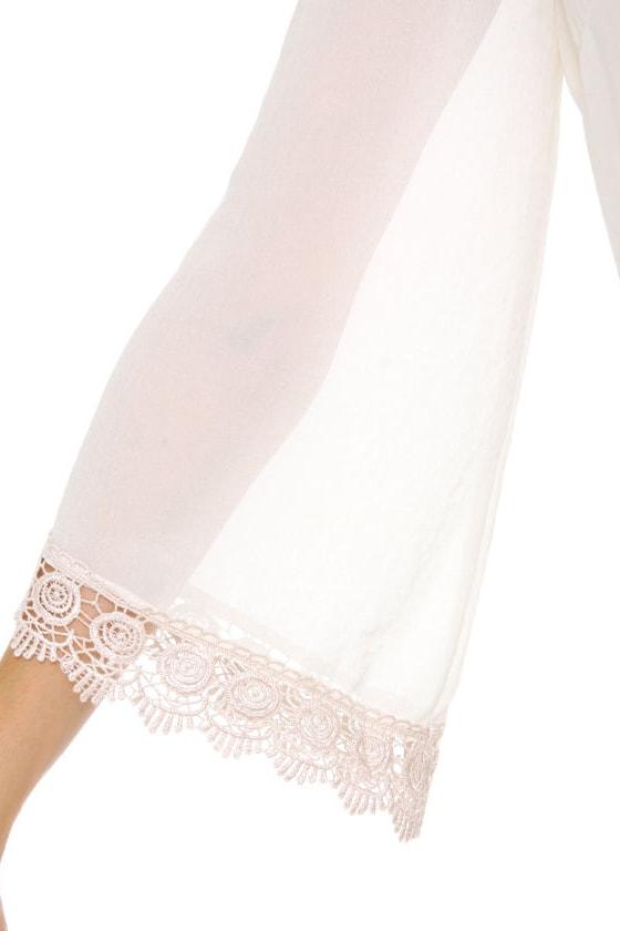 Angel Food Cake Ivory Dress