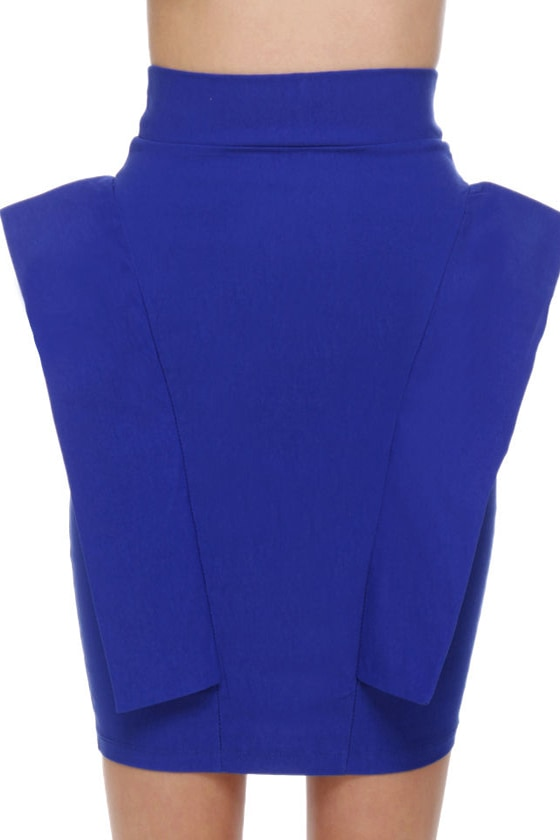 Pep Talk Royal Blue Skirt