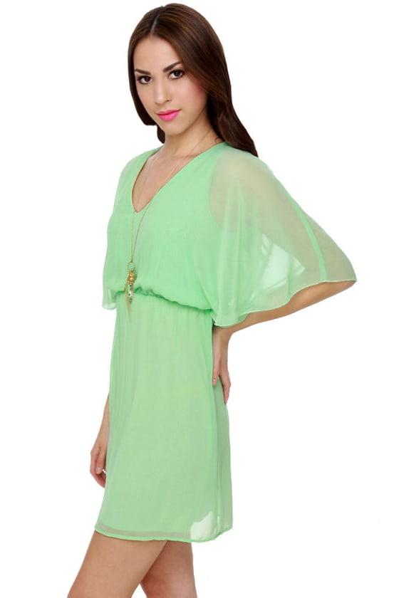 Isairis Mint Green Dress