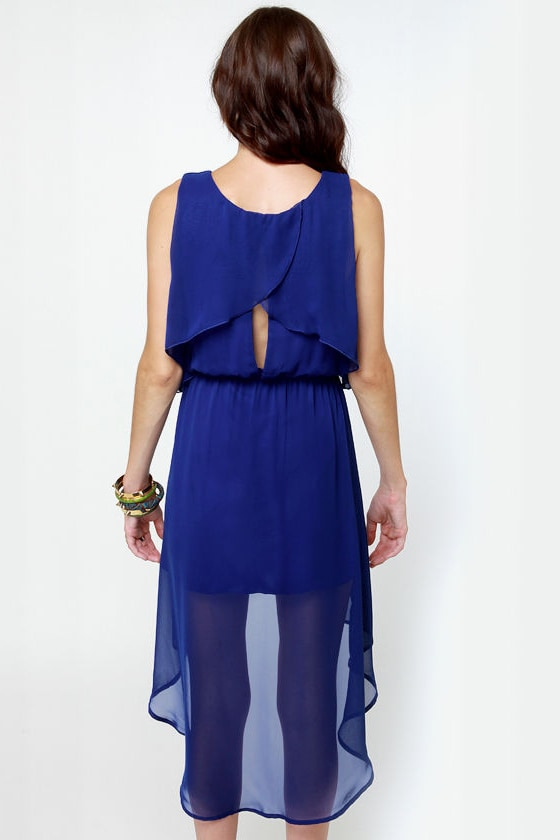 Tier-ing Up Royal Blue Dress