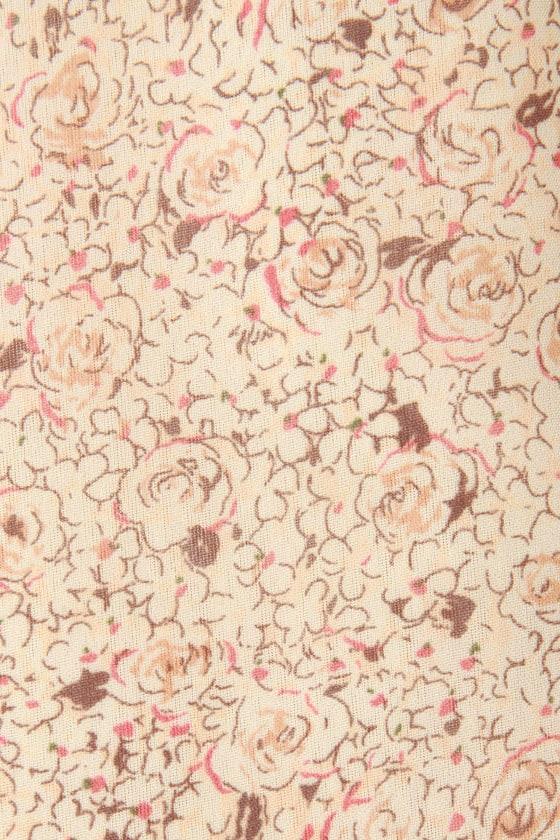 Parlor Music Floral Dress