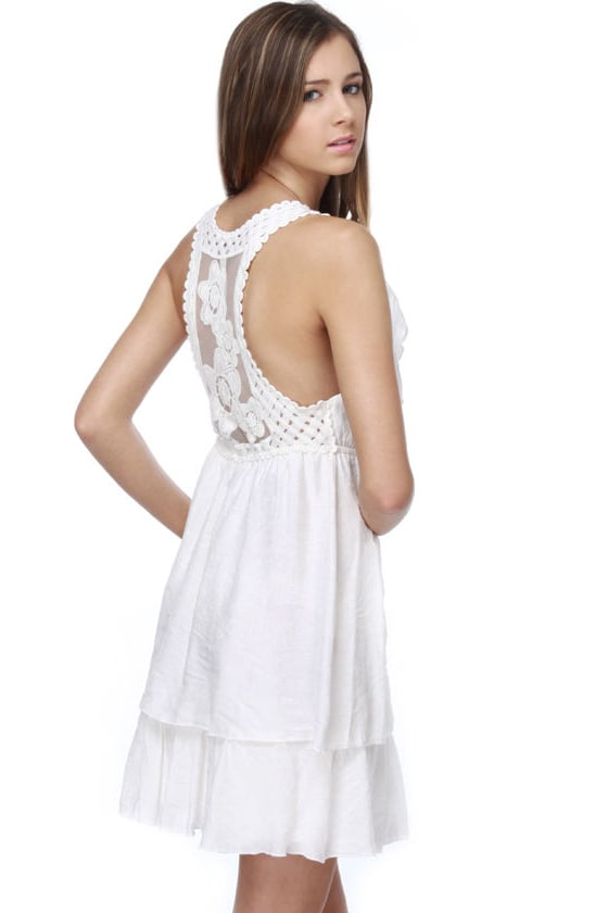 Heaven Sent Ivory Dress