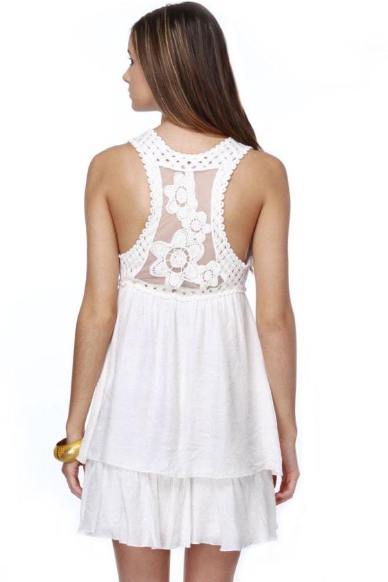 Heaven Sent Ivory Dress