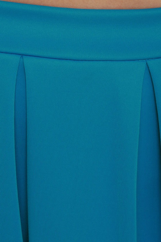 Everything Illuminated Blue Skirt