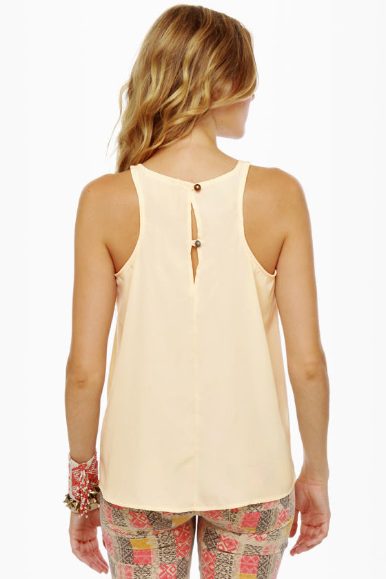 My Boyfriend's Back Cream Top at Lulus.com!