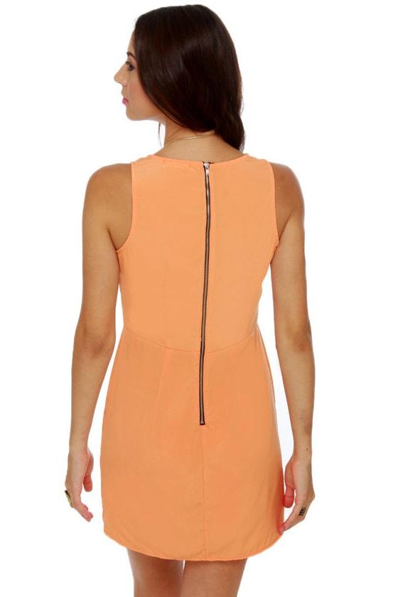 Yogurt Pop Orange Dress
