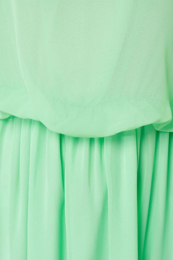 Mount Olympus Mint Green Maxi Dress at Lulus.com!