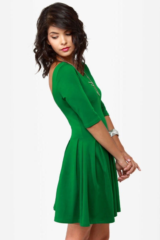 Sweet Thing Green Dress