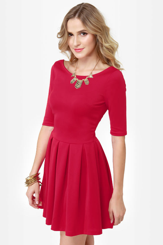 Sweet Thing Red Dress