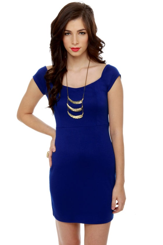 Show Off Royal Blue Dress at Lulus.com!