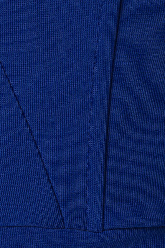 Dynamo Strapless Royal Blue Dress