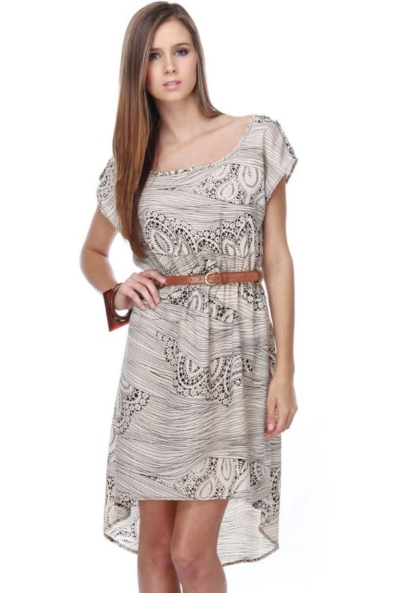 On a Doily Basis Print Dress