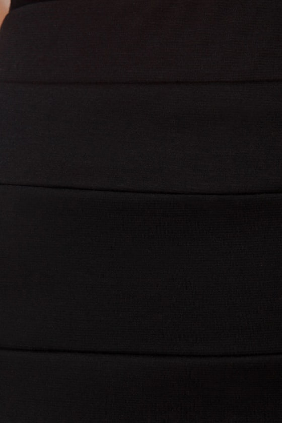 Welcome to Oz Black Mini Skirt