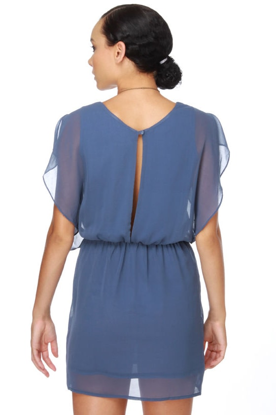 Wendy Bird Blue Dress